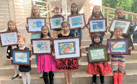 FCS Students Take Top Honors In 2020 Fulton County Art Calendar